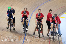 U17 Men Team Pursuit. Ontario Track Championships, March 4, 2018