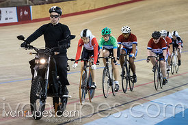 Master Women Keirin Final. Ontario Track Provincial Championships, March 6, 2016