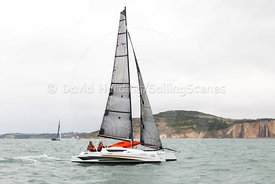 Dragonfly 25 Sport trimaran, Round the Island Race 2017, 20170701028