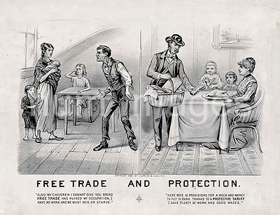 Free trade and protection c 1888