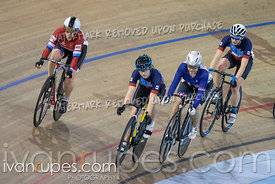Cat 2 Women Scratch Race. Track Ontario Cup #2, January 13, 2019