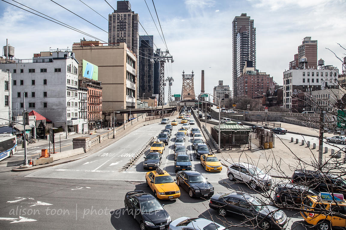 Queensboro Bridge, New York, from Manhattan