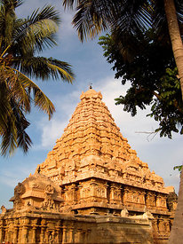 India - Gangakondacholapuram - The Shiva temple at Gangakondacholapuram