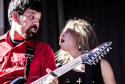 SACRAMENTO, 28 June 2014: Some Fear None playing on the Local Licks stage at SacTown Rocks, a Sacramento music festival held ...