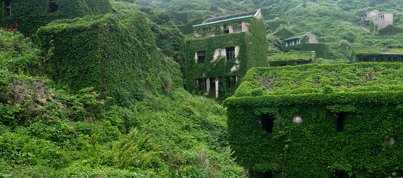 Houtouwan abandoned fishing village, Shengshan Island (part of the Shengshi Archipelago, Zhejiang