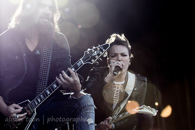 jJoe Hottinger and Lzzy Hale, Halestorm