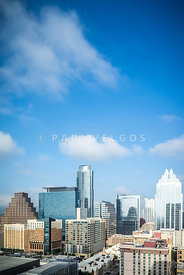 Austin Texas Skyline Cityscape Photo