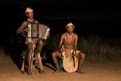 Antandroy musicians, Mandrare River Camp, Ifotaka Community Forest, Madagascar