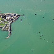 Hayling Island aerial photos