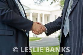 White House Handshake