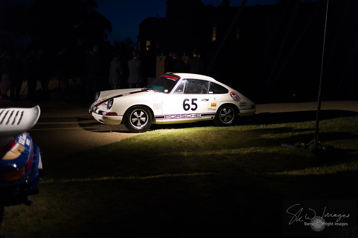 After-dinner entertainment at the Goodwood Road Racing Club (GRRC) Summer Ball - Goodwood Festival of Speed 2013