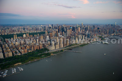 Looking south over Manhattan, from Upper West Side to Midtown