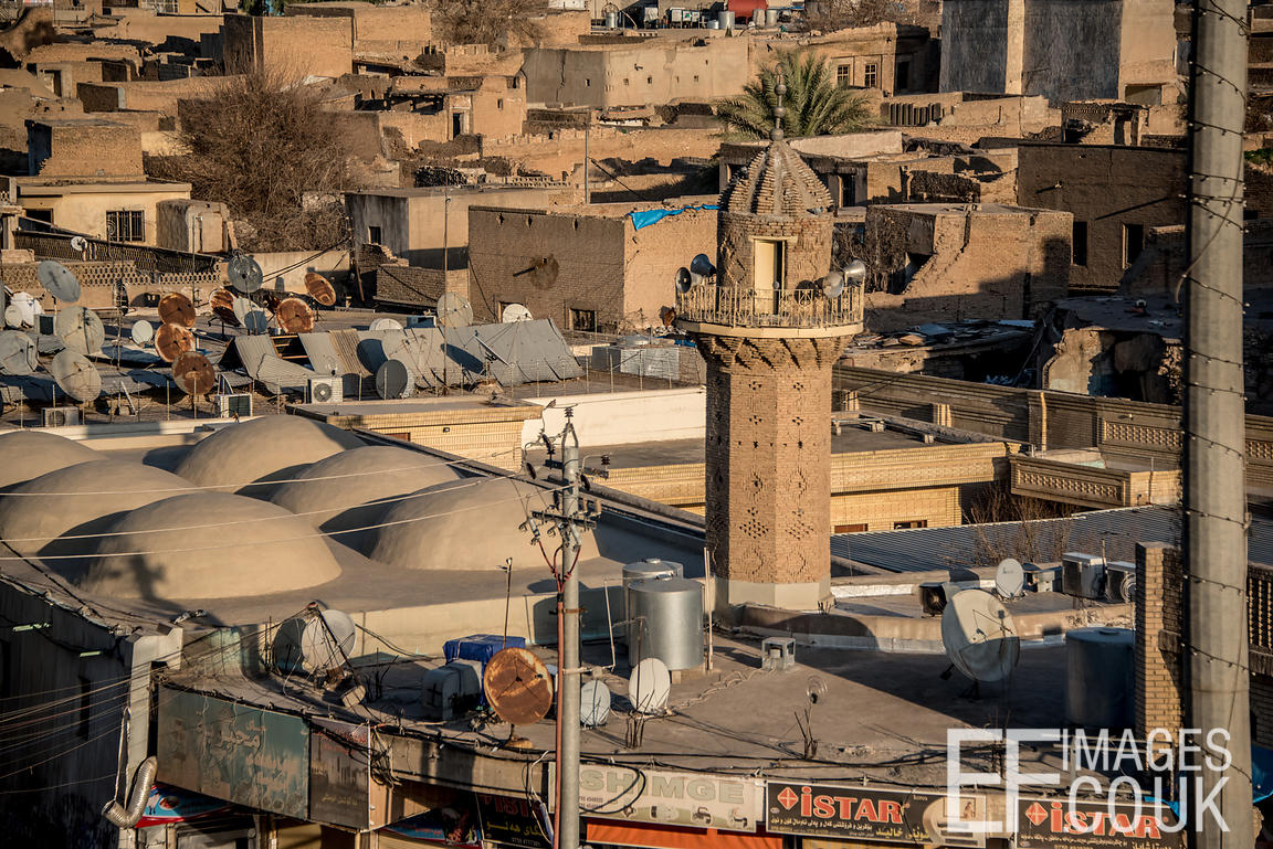 A Minaret In Central Erbil, Iraq