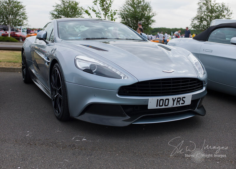 Aston Martin Vanquish - Celebrating the Aston Martin Centenary at the Silverstone Classic 2013