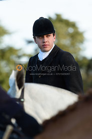 George Ward At the meet. The Belvoir Hunt meet at Waltham House 22/12