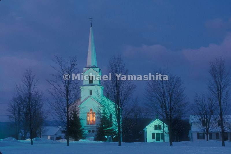 Church in the North East Kingdom, Vermont