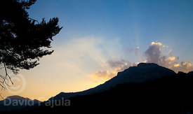 Summer Sunset in the Berguedà-Solsonès border