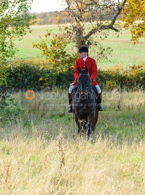 David Manning near Denton. The Belvoir Hunt at the Kennels 13/11