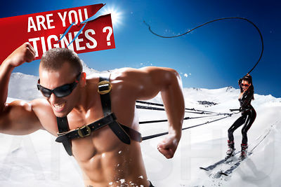 Tignes communication campaign 2010 - the whip