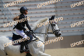 KISS Lizanna (HUN) and INAS during GP Kiemelt verseny, Horze Gyermek GP - 125 cm, 2018. 06. 17. - Szilvásvárad  (Photo: www.i...