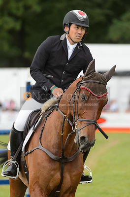 Yoshiaki Oiwa and CALLE 44 - Showjumping - Bramham International Horse Trials, June 2017