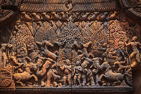 Banteay Srei pediment