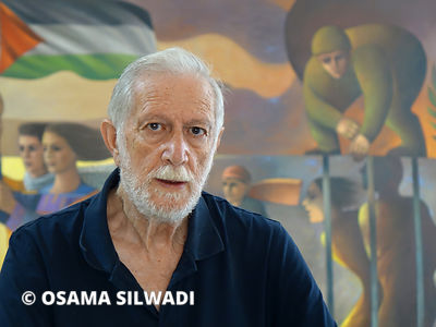 Sliman Mansour is one of the most distinguished Palestinian artists working today