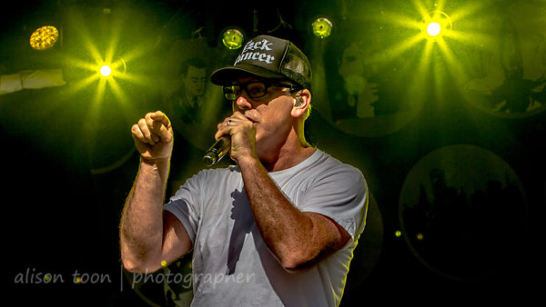 Greg Graffin, vocals, Bad Religion, Aftershock 2014