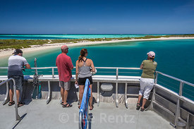 Visitors on Yankee Freedom III in Dry Tortugas National Park