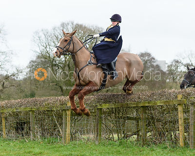 The Belvoir Hunt at Goadby Marwood 12/1