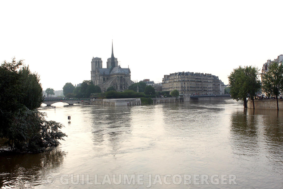 Seine Flood in Paris - 2016