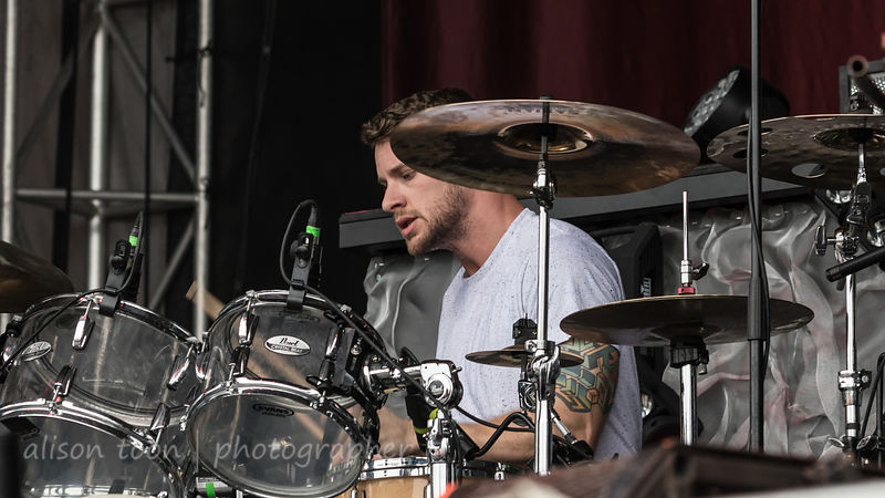 Ben Anderson, drums, Nothing More