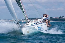 Firestarter, GBR 8560R, Bavaria 35 Match, 20130720055