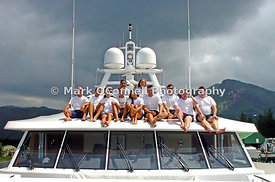 Mosaique crew in Mahe Seychelles