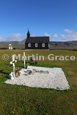 Budir Church, Snaefellsnes - one of the oldest wooden churches in Iceland
