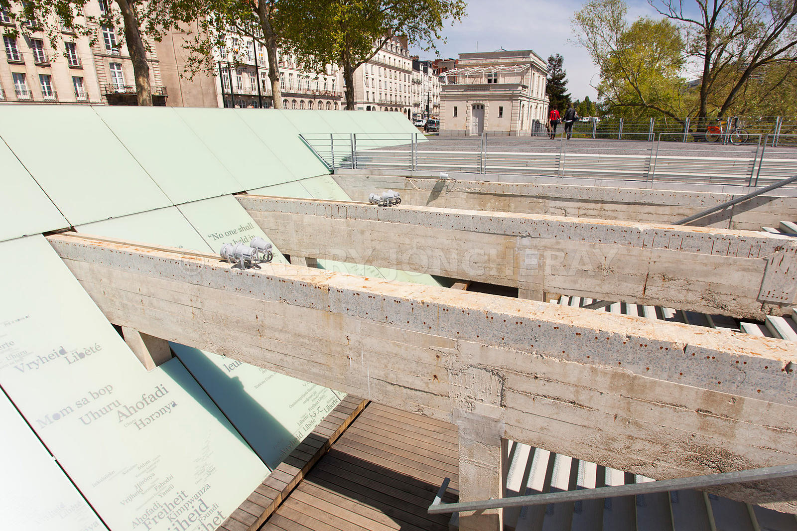 Photo du memorial de l abolition de l esclavage