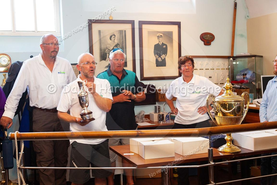 Prize-giving at Weymouth Regatta 2018, 20180909030.