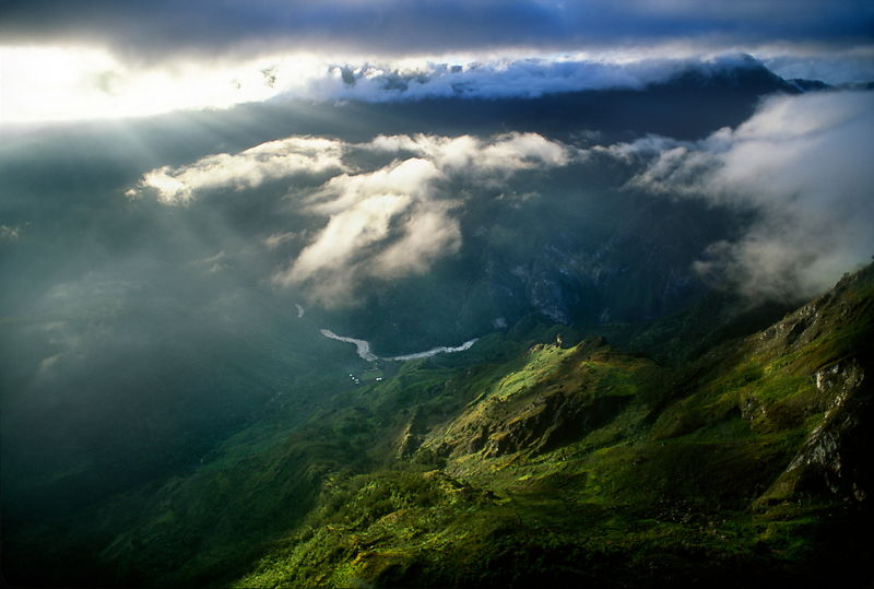 Baliem Valley aerial