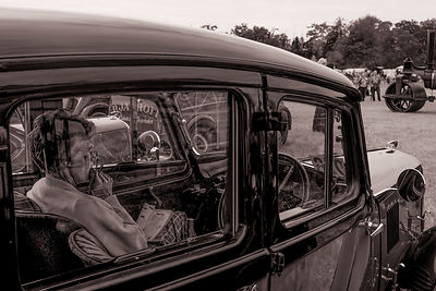 Lady in the Old Austin | Prestwood Steam Rally | July 2014
