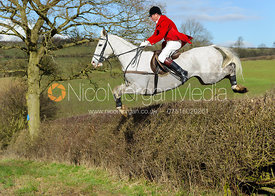 Nicholas Leeming MFH - The Cottesmore Hunt at Ladywood