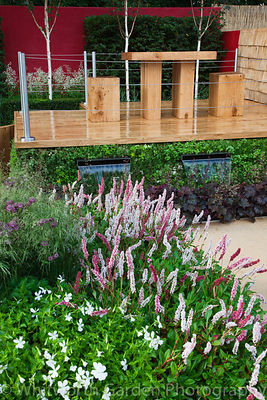 The 'Urbanise' garden at RHS Hampton Court Flower Show. Designer: Ian Rochead. © Rob Whitworth