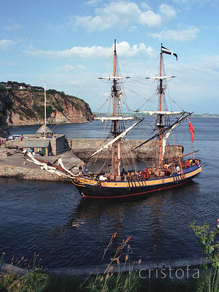 Phoenix of Dell Quay in Charlestown Harbour