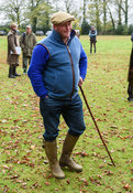 Mike Lane at the meet. The Cottesmore Hunt at Somerby
