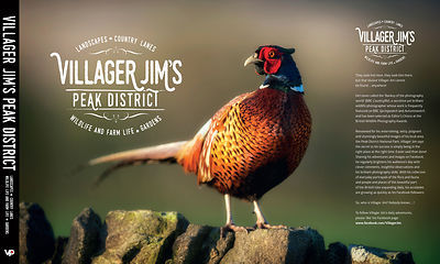 Villager Jims Peak District , my new book launching next month can't wait!!!