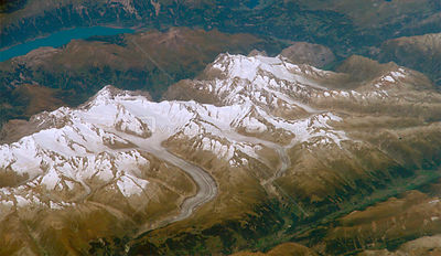 EARTH The Alps -- ca. 2000 -- The formidable mountain system of the Alps stretches across much of central Europe