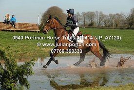 Portman Horse Trials 2014 - Novice Sections - (15-00 - 15-59)