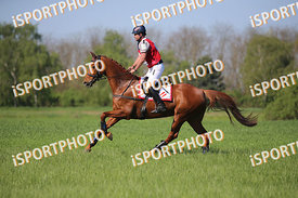 Philip BLINDHOFER (AUT) and GIDRAN II (ORGONA) during National Qualifier Eventing Competition, cross country, 2018 April 21 -...
