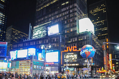 Time Square sur l'avenue de Broadway