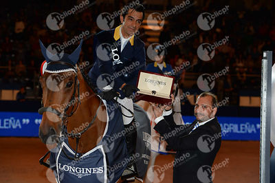 Prize Giving ceremony of Gp Longines Fei World Cup