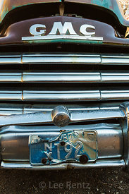 Details of Old GMC Pickup in Belmont, Nevada